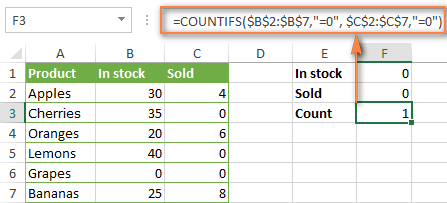 Coffee Excel 0000003.3 - Countifs voi nhieu dieu kien - Example 2