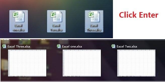 Top 20 tuyệt chiêu Excel bí mật - mở nhiều file Excel cùng lúc