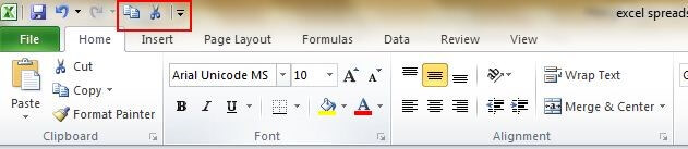 Top 20 tuyệt chiêu Excel bí mật - Quick Access Toolbar