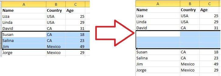 Top 20 tuyệt chiêu Excel bí mật - Chèn nhiều dòng, cột
