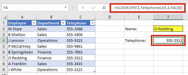 Tự mở rộng vùng dữ liệu VLOOKUP - Excel Tables and VLOOKUP