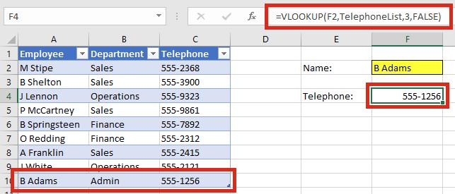 Tự mở rộng vùng dữ liệu VLOOKUP - Enter Data