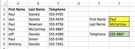 VLOOKUP nhiều điều kiện - Data Table