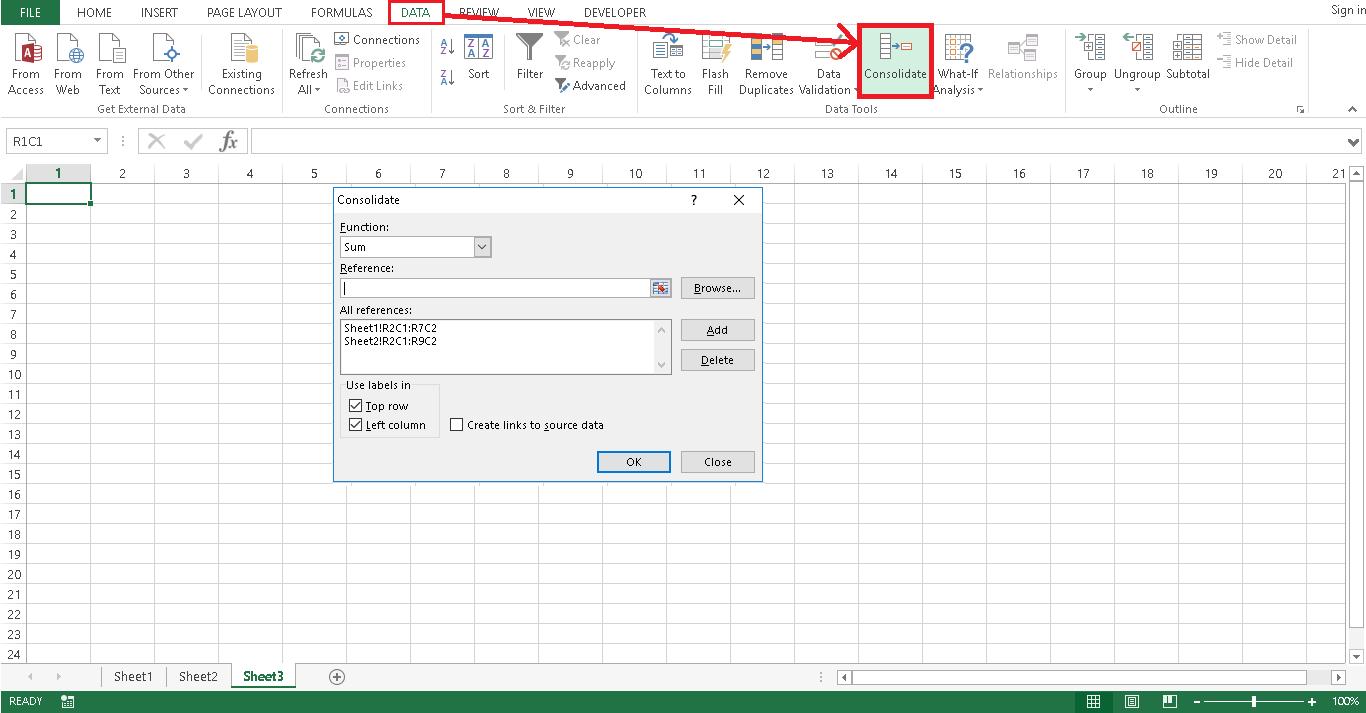 Tổng hợp dữ liệu