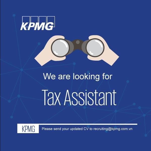 KPMG tuyển dụng