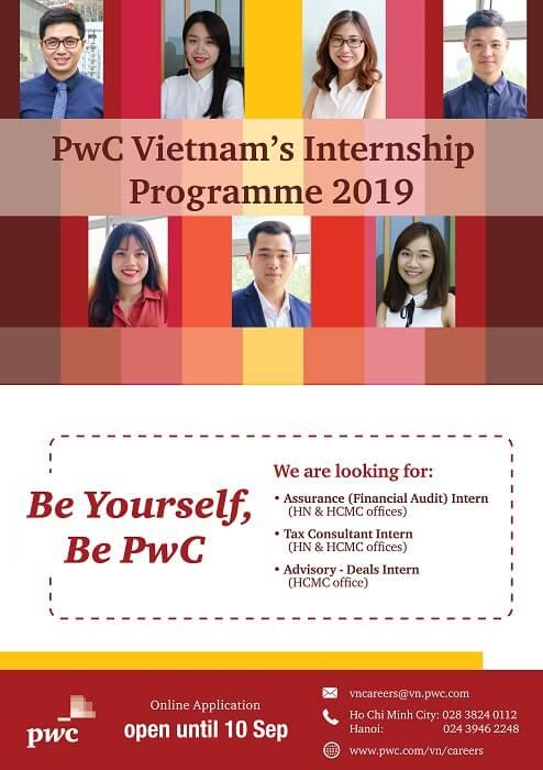 PwC Internship Program