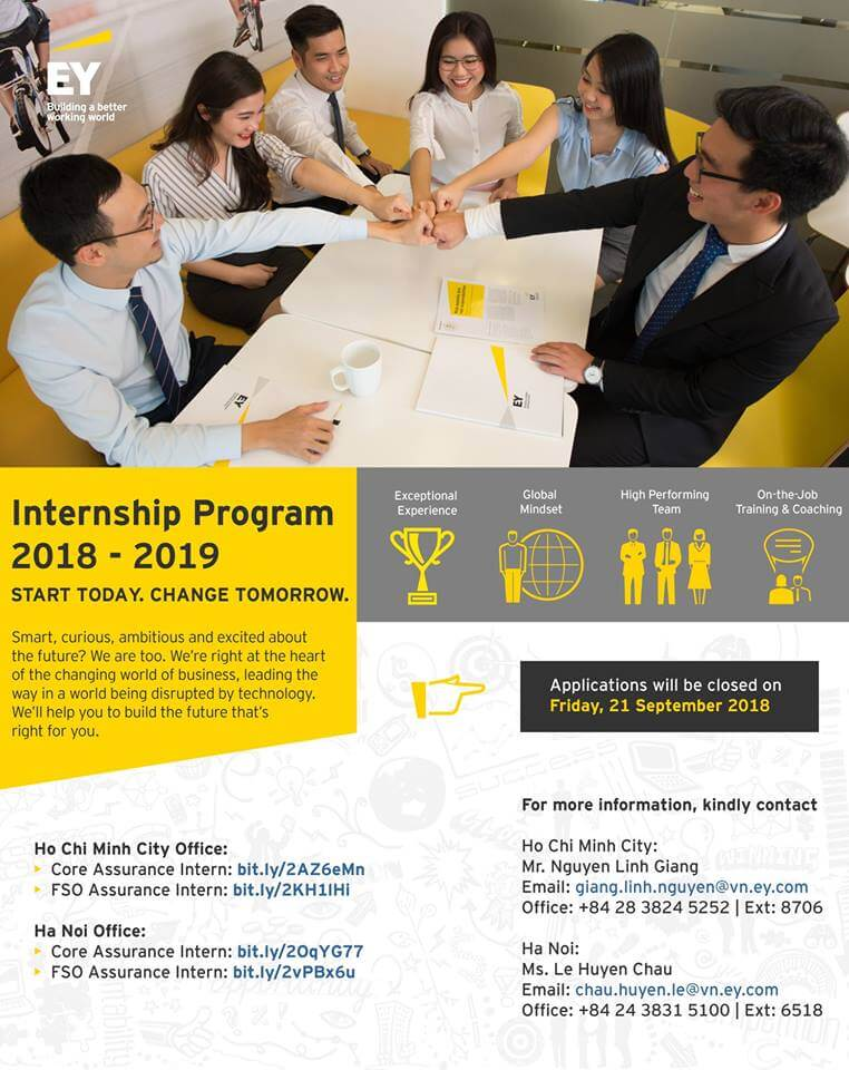 EY Internship Program