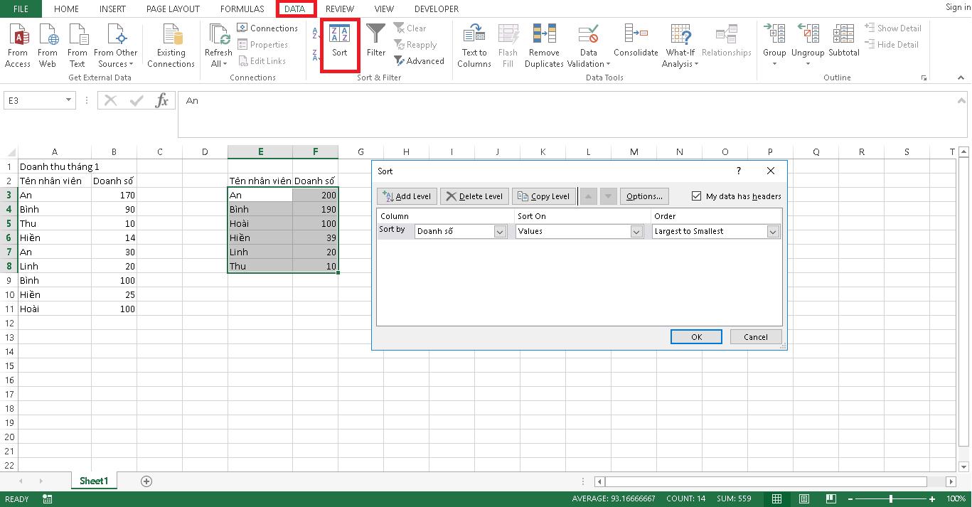 Xử lý dữ liệu trước khi vẽ biểu đồ